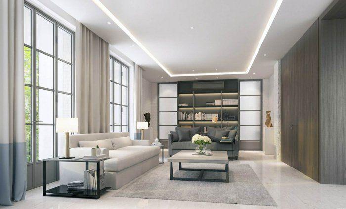 Abgehangte Decke Beleuchtung Ein Trend In Der Deckenmontage