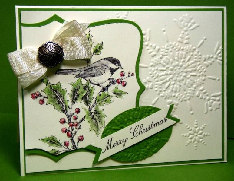 Christmas in July- For the Birds :-) by Julie Gearinger - Cards and Paper Crafts at Splitcoaststampers