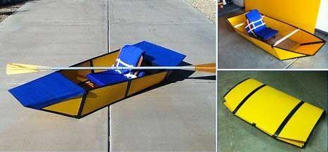 Pin By Serm Tanakul On Folding Boat Folding Boat Boat