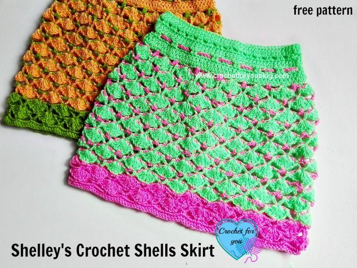 Shelleys crochet shells skirt free pattern free pattern shell shelleys crochet shells skirt free pattern dt1010fo