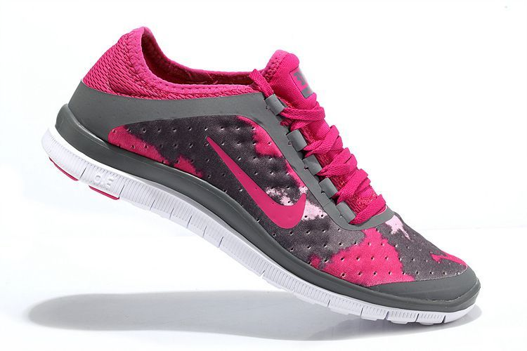 Nike Free 3.0 V7 Women Peach Gray