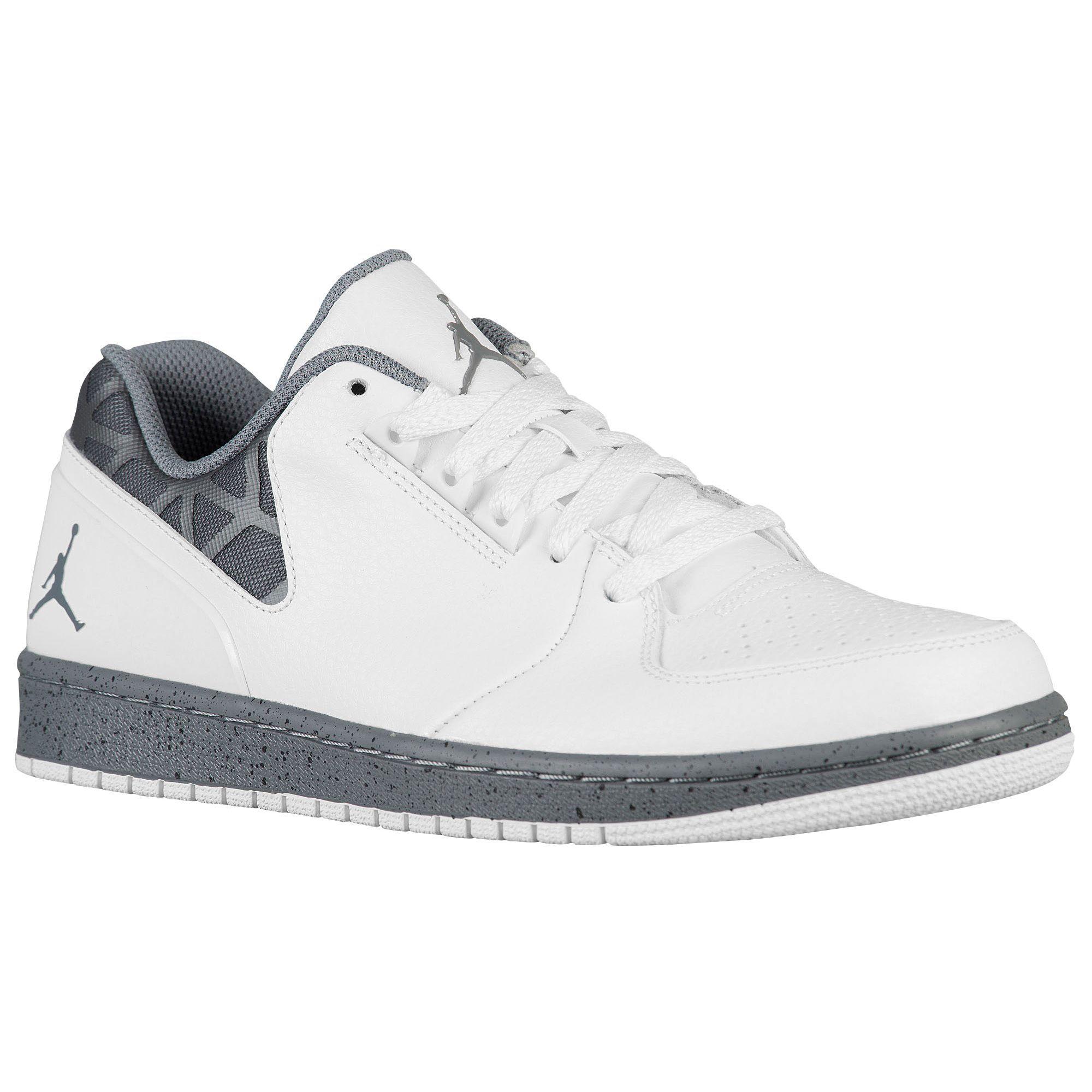 best sneakers bcde0 88f4c Jordan 1 Flight 3 Low - Men s - Basketball - Shoes - White Black Cement  Speckled Midsole