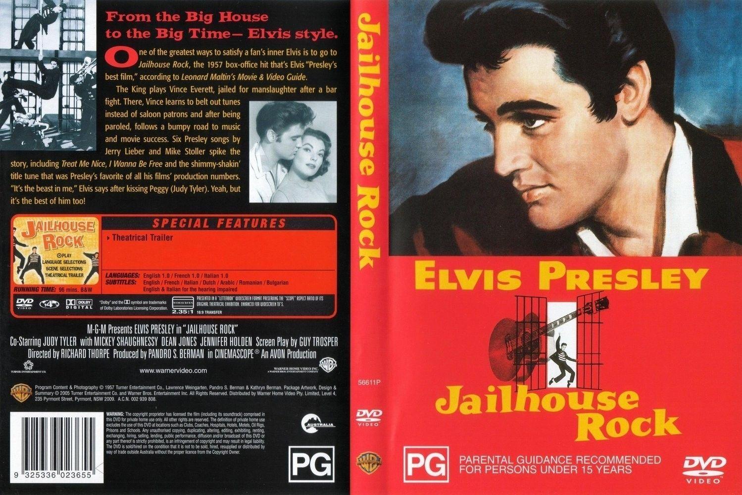 Jailhouse Rock - Color Version DVD