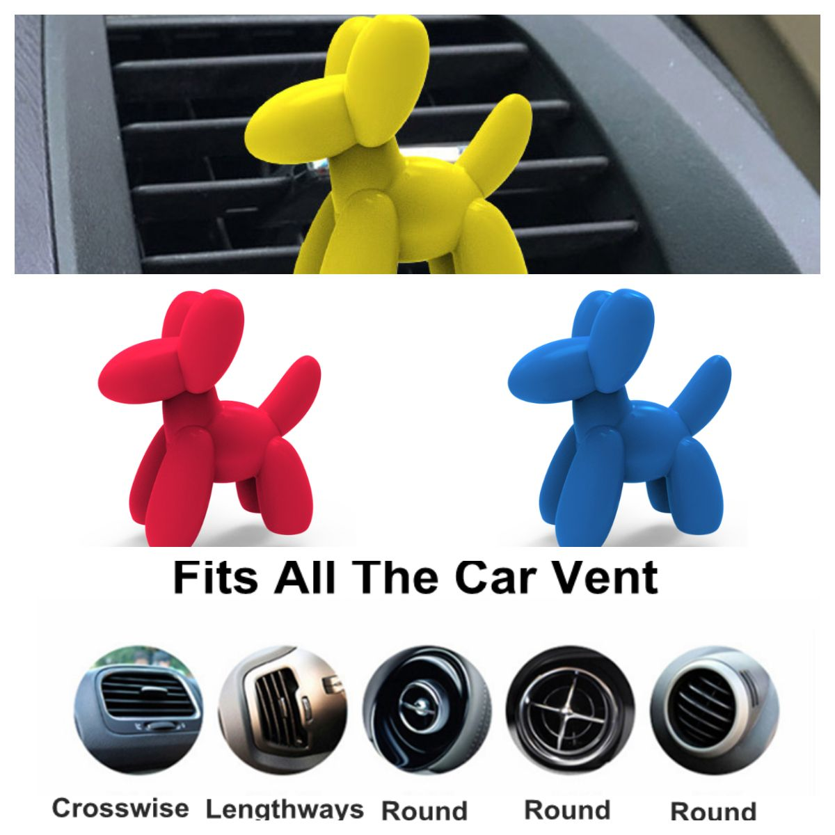 The air freshener has been designed with an easytoapply