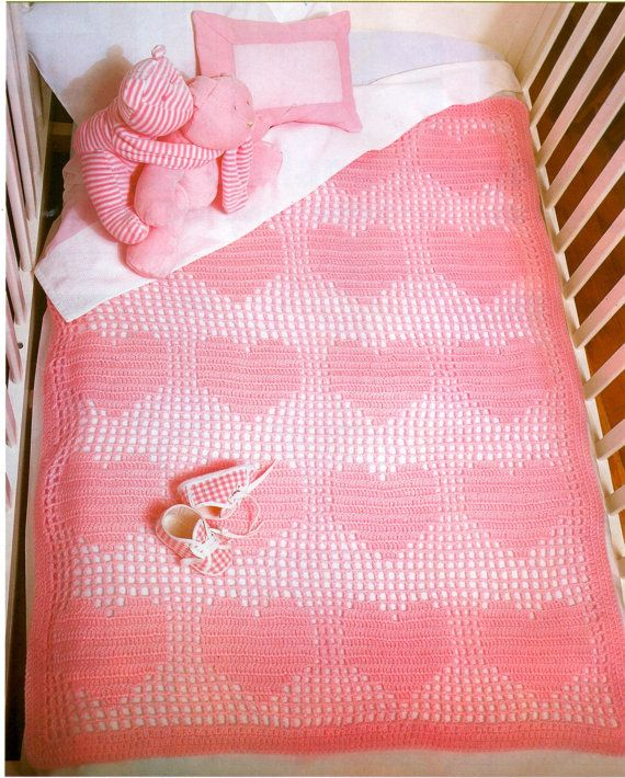 Thursday\'s handmade love week 62 Theme: baby girl blankets Includes ...