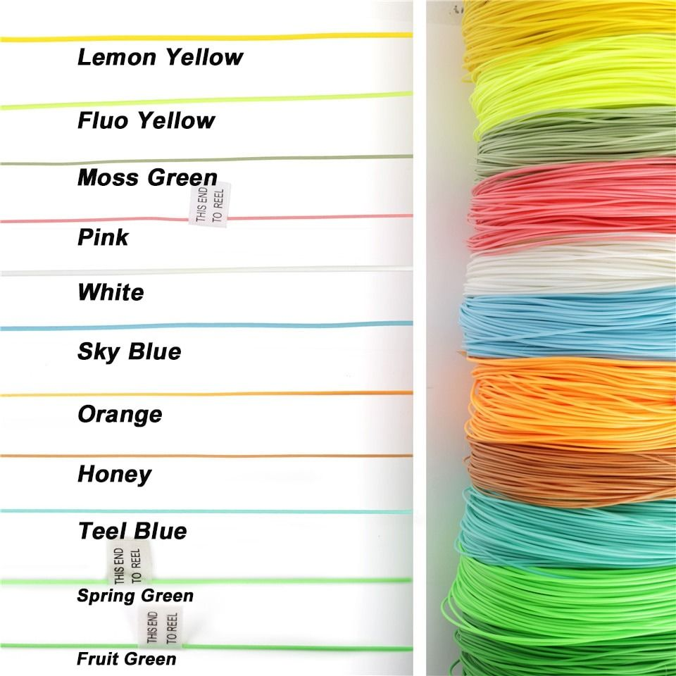 Maximumcatch 100ft 2 3 4 5 6 7 8 Wt Fly Fishing Line Weight Forward Floating Fly Line Multi Colors Fishing Line In 2021 Fly Fishing Line Fishing Line Fly Fishing