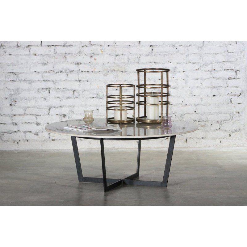 Everly Quinn Raymond Marble Top Coffee Table Wayfair Coffee - Marble coffee table wayfair