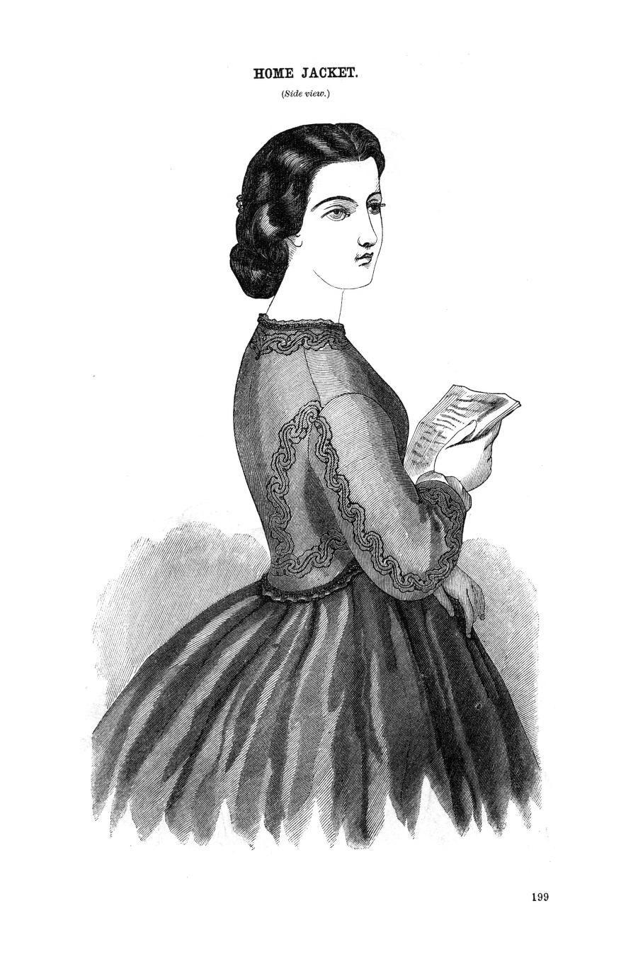 Godey's Lady's Book September 1864