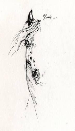 Image Result For Abstract Horse Tattoo Tatuajes De Caballos Dibujos De Caballos Como Dibujar Cosas