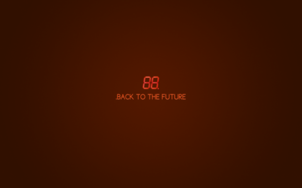Back To The Future Movie Wallpapers Minimalist Poster Bttf Film Posters