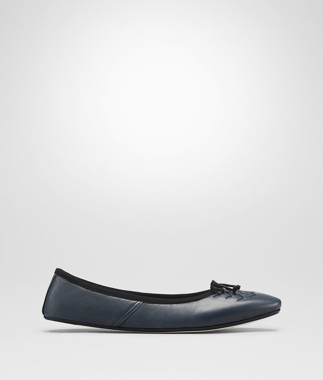 top design bel design seleziona per ultimo Bottega Veneta Denim Nappa Leather Picnic Ballerina | A 80 ...
