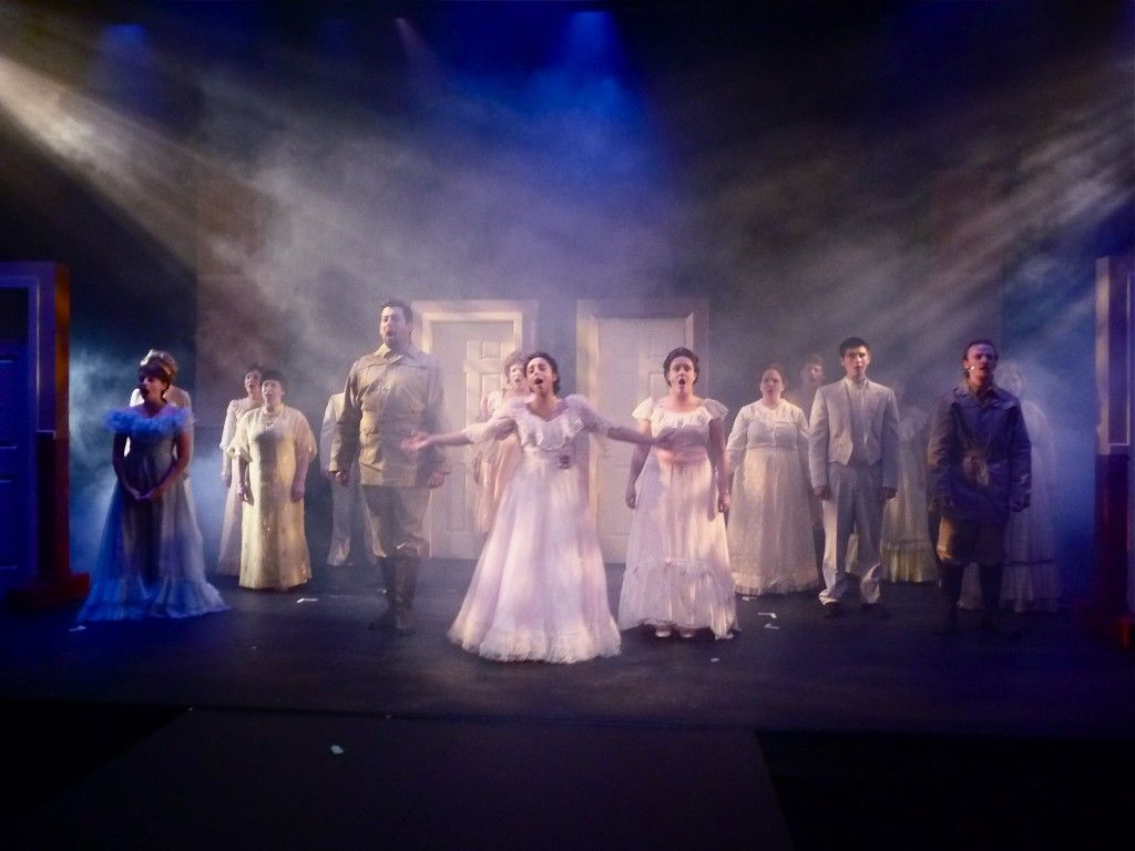 The White Light Used In This Image Shows The Purity Of The Singers And Shows That Something Big Could Be Happening Next