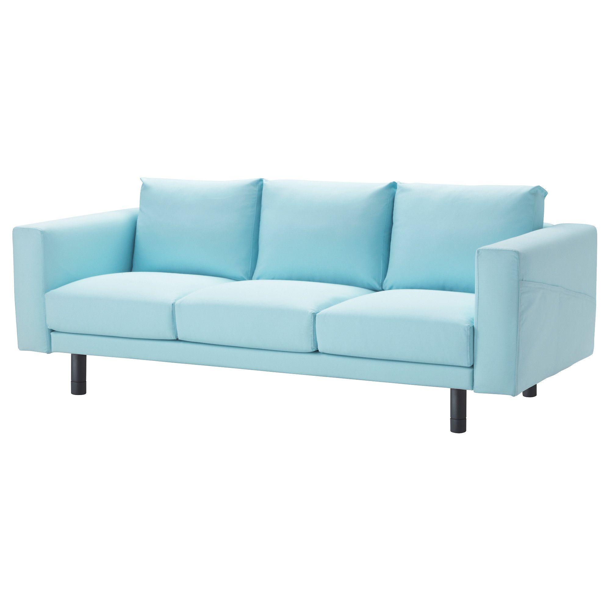ikea - norsborg, sofa, edum dark blue, gray, , big or small