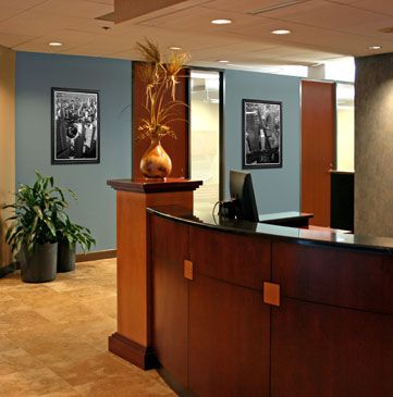 dchj lettering and nice color blue could be more gray on commercial office colors for walls id=72500