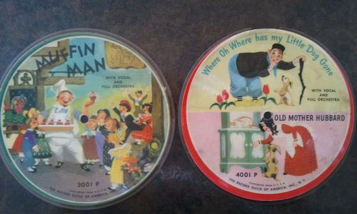 2 Childrens Record Guild Picture Discs Muffin Man Old MacDonald 3001P VINTAGE! | eBay