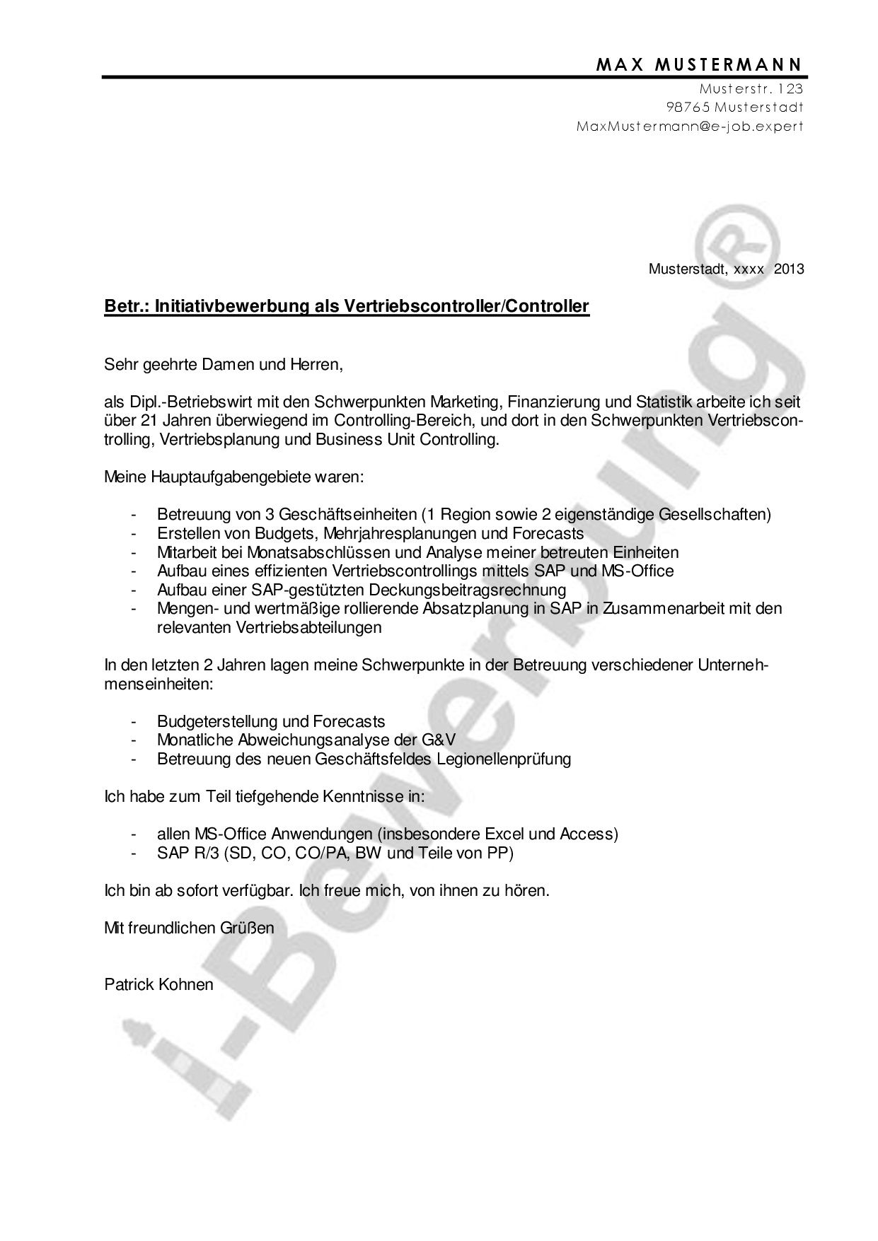 Formulierung Anschreiben zur Stellenbewerbung: Der Einleitungssatz ist  extrem wichtig!