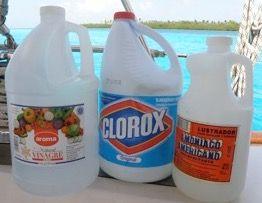 How To Clean With Vinegar Bleach And Ammonia Cleaning With