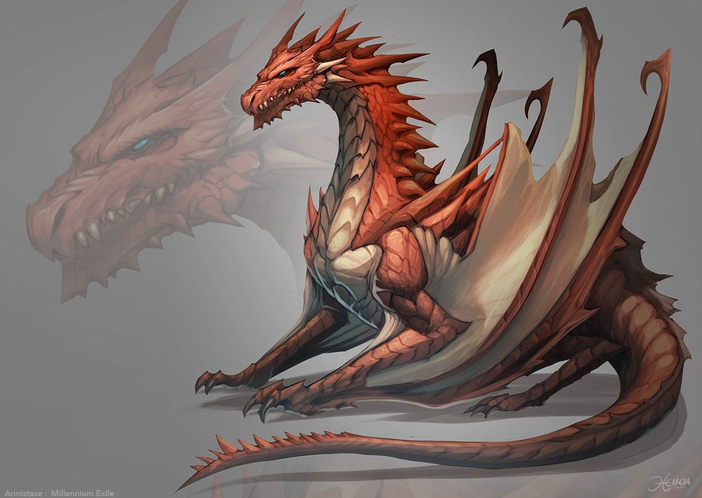 Dnd Red Dragon: Hello People! This Is A Comission Work , Well I Hope You