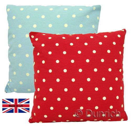 Still time to treat yourself or even the mother in law for #Christmas with these lovely #spotty #cushions, #bolsters to match and even #peg bags for those nice sunny days. #pegbags #dotty #homeandliving #homeandgarden #beanbags