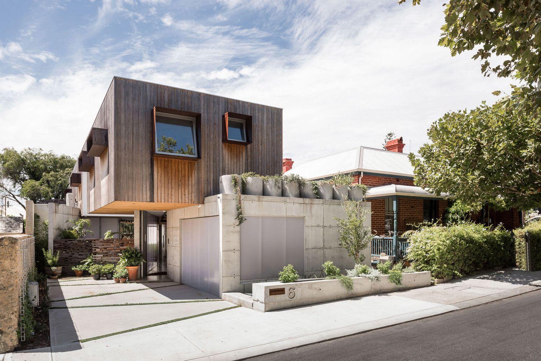 Perth australia silver house edho architecture south fremantle homes also   balances private solitude with rh pinterest