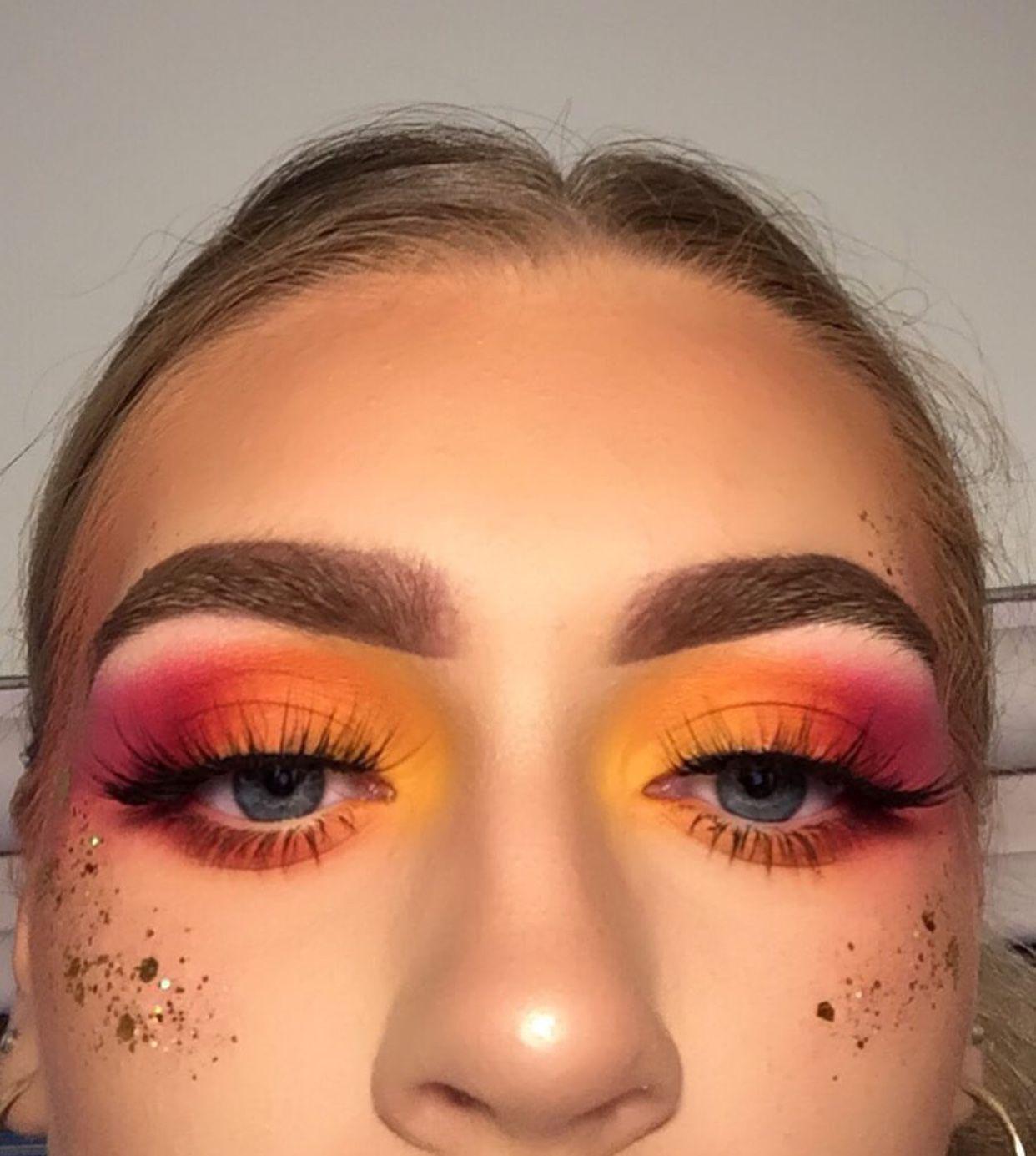 Ig Makeupwlp With Images Sunset Makeup Aesthetic Makeup Makeup