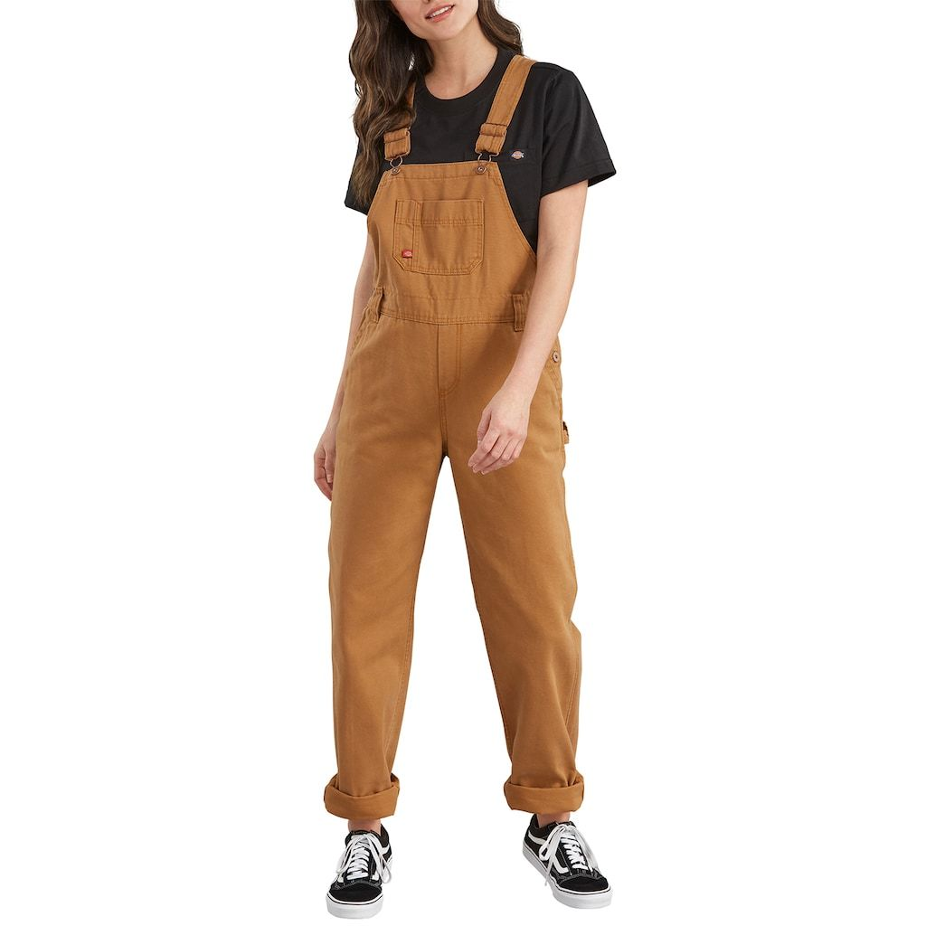 women s dickies relaxed fit straight leg overalls size on dickies coveralls id=15164