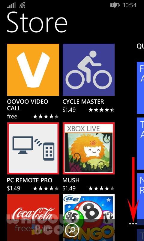 Tip How to manually install app updates from Store using