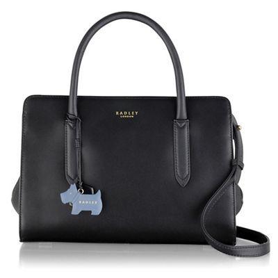 Radley Medium Black Leather Liverpool Street Grab Bag Debenhams