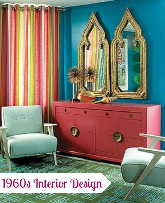 1960′s Interior Design | Color | Pinterest | Interiors, 1960s ...