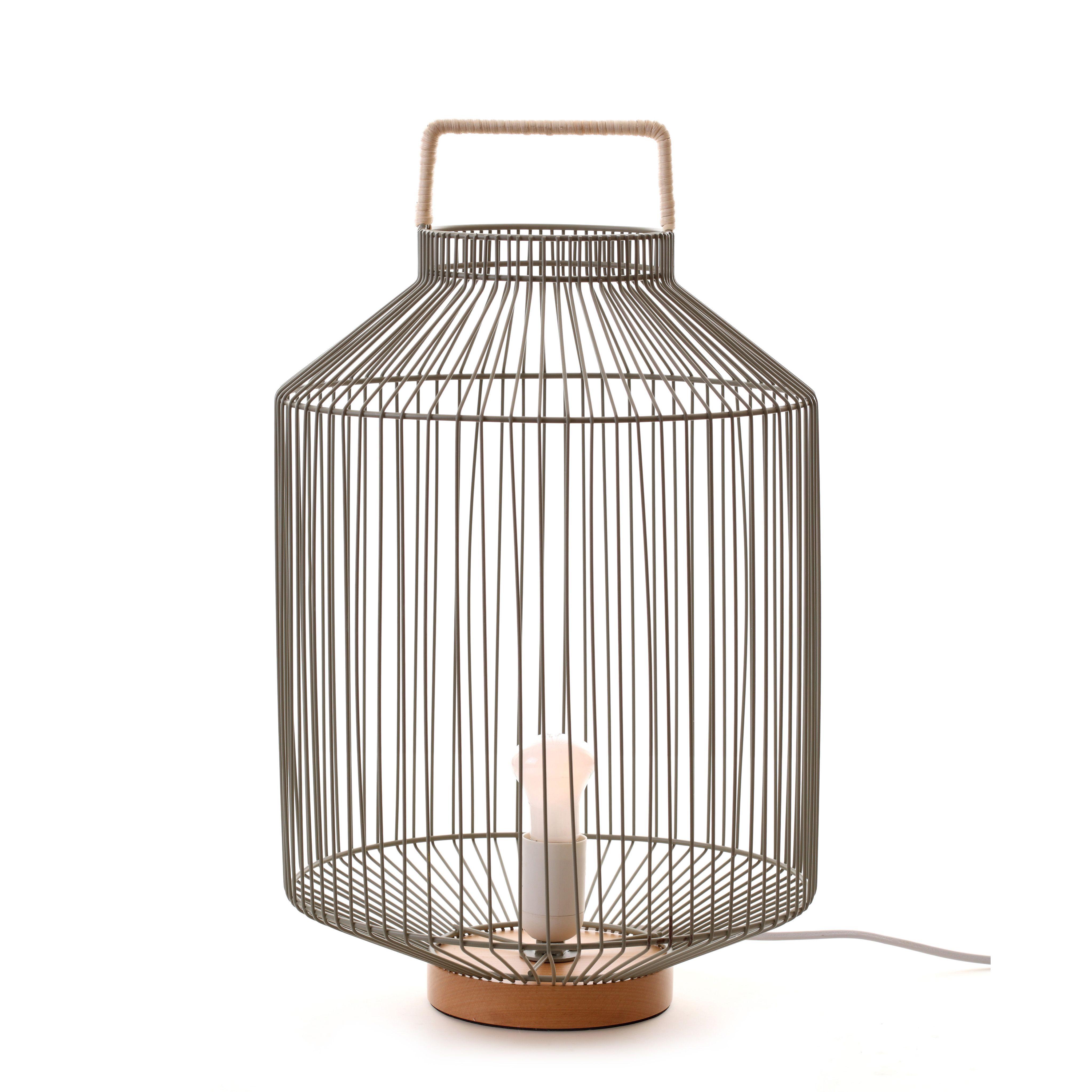 LAMPE À POSER CRAFTY EN MÉTAL VERT DE GRIS  Lampe à poser, Lampe