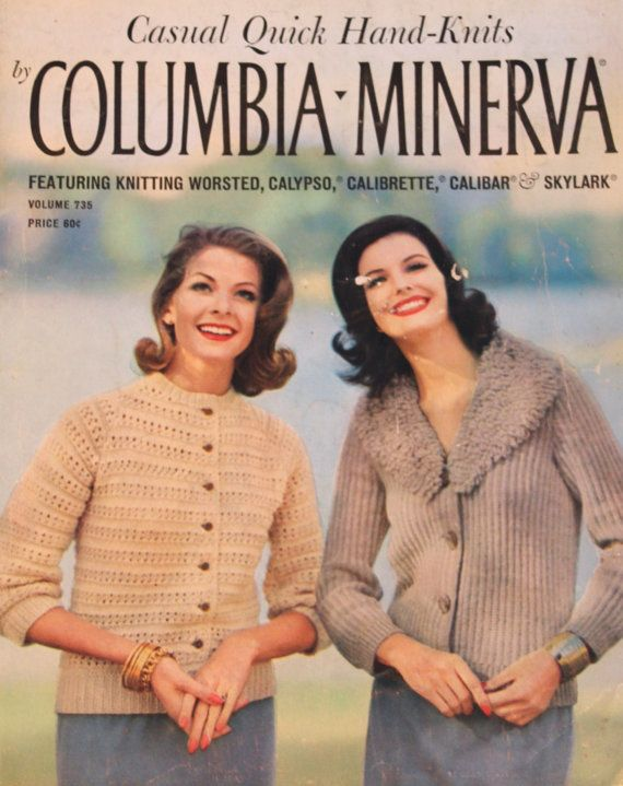 773025b70 Vintage Casual Quick Hand-Knits by Columbia Minerva Women s Hand ...