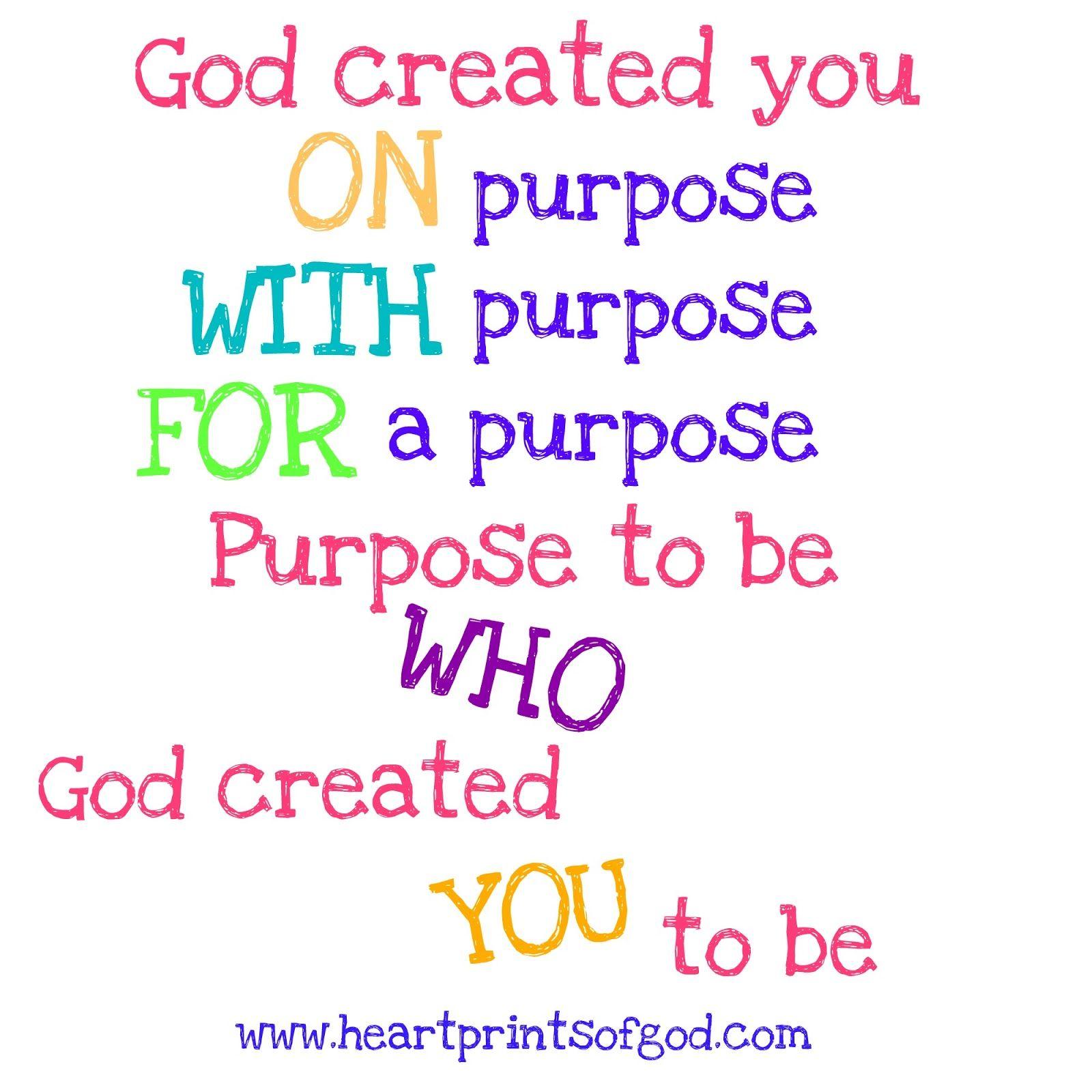 Heartprints of god do iton purpose day 31 make it