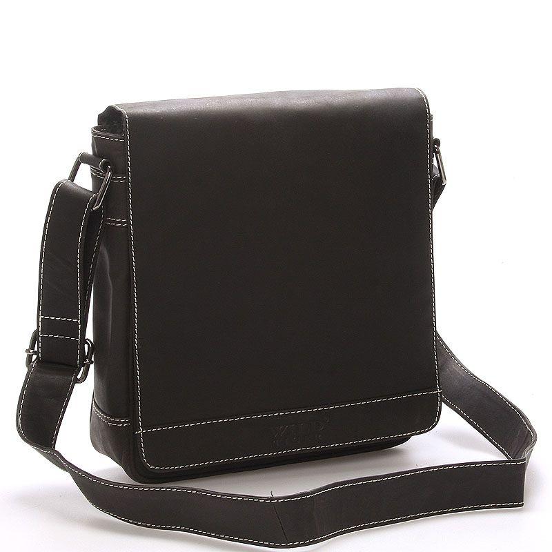 cba9d95041 Stylová pánská kožená taška na doklady.  muži  móda  taška  přes  rameno   vánoce  vánoční  dárky