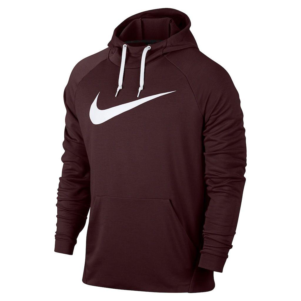 Big Tall Nike Dry Lightweight Hoodie Hoodies Nike Long Sleeve Hooded Sweatshirt Men [ 1024 x 1024 Pixel ]