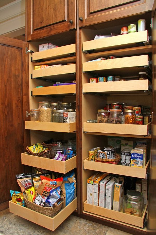 30 Kitchen Pantry Cabinet Ideas For A Well Organized Kitchen Kitchen Cabinet Design Kitchen Pantry Storage Cabinets Organization