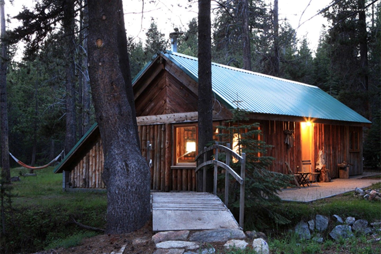 at yurt campground rv pines yosemite national cabins rentals sites park