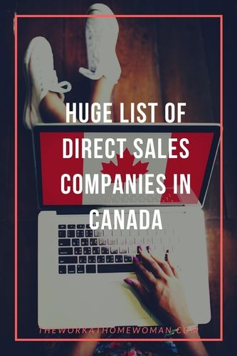 Direct Sales Canada >> Huge List Of Direct Sales Companies In Canada Direct Sales