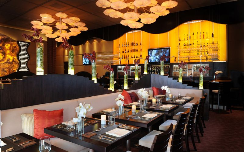 Inside the dining room at Prelude by Barton G. in Miami.