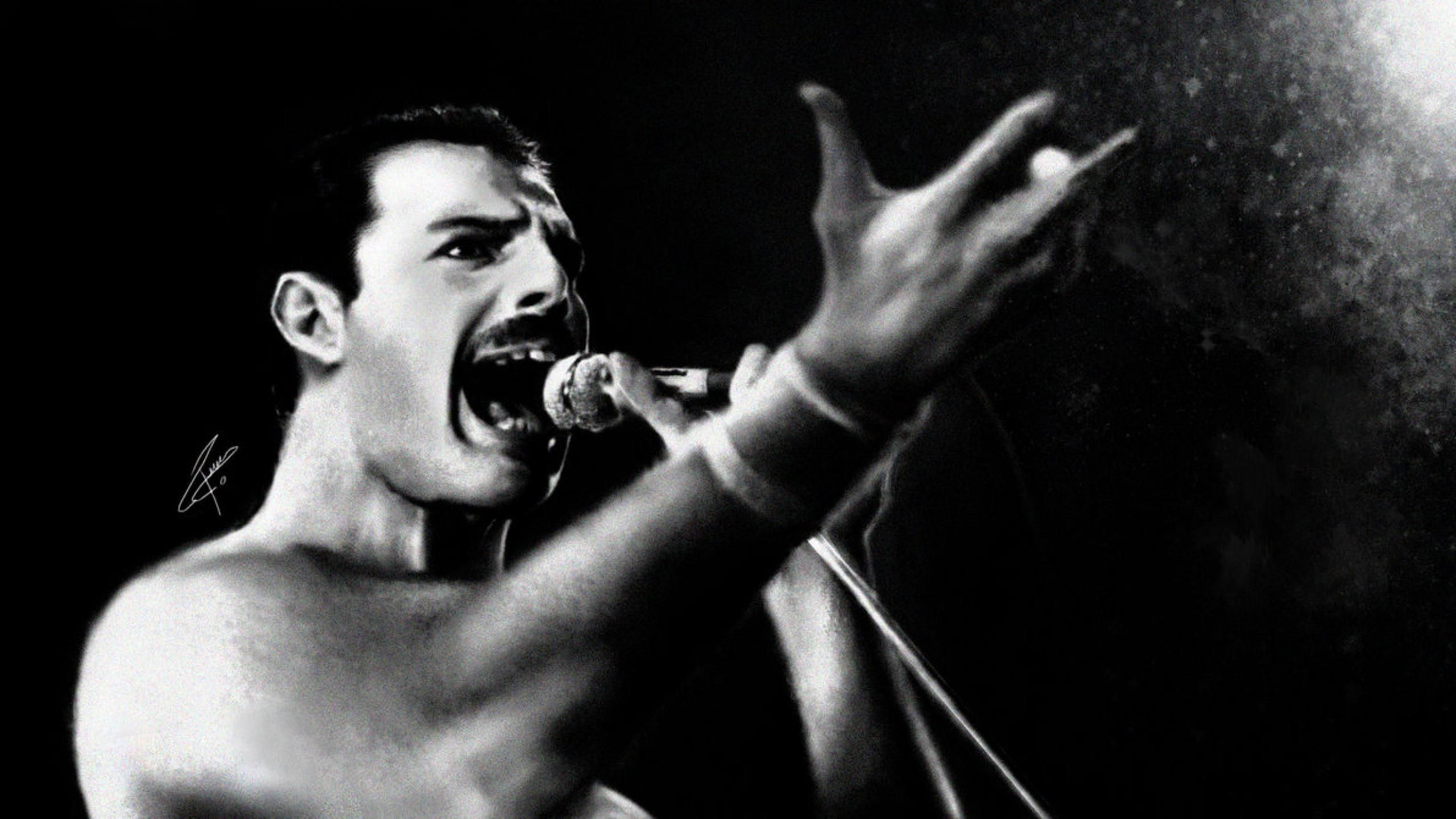 Wallpaper Wiki Freddie Mercury Band Queen 2560x1440 Pic Wpb004282 Wallpaper Wiki Freddie Mercury We Are The Champions Soundtrack To My Life