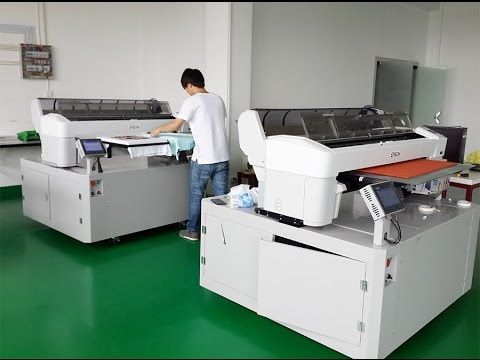 8de1740fb DTG printing factory take 2 Polar-Jet with Epson Surecolor T7000 for  Industrial DTG printing - YouTube
