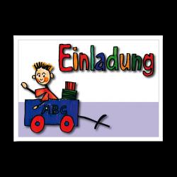 """Grußkarten """"EINLADUNG"""" nur 2,45 EUR/Stück"""