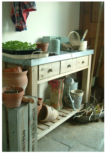 Awesome Pottery Barn Potting Benches