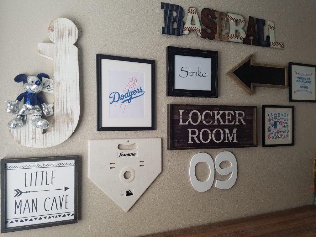 Baseball Wall Decor Baseball Room Decor Sports Room Decor