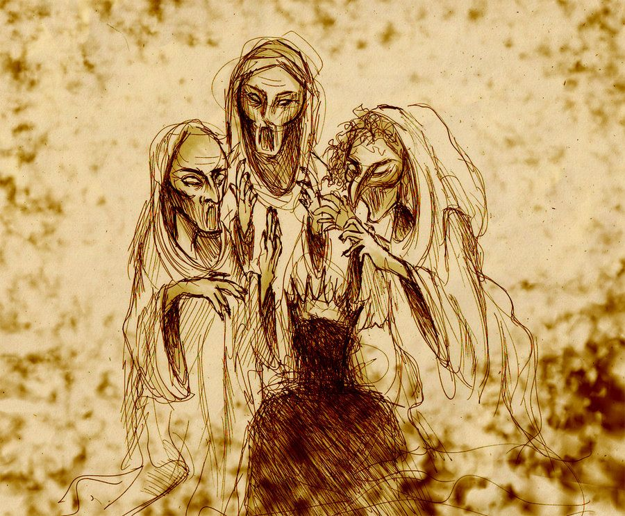 """Double, double toil and trouble, fire burn, and cauldron bubble""""(4.1.10-11). This chant is said by all three witch… 