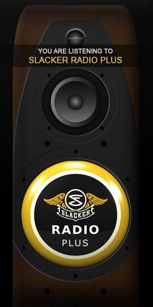 slacker radio | Products I Love | Music station, Free