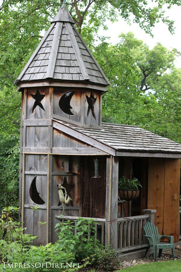 18 fabulous garden shed ideas ptiotes maisons cabane jardin abri de jardin et maison de hobbit - Baraque de jardin ...