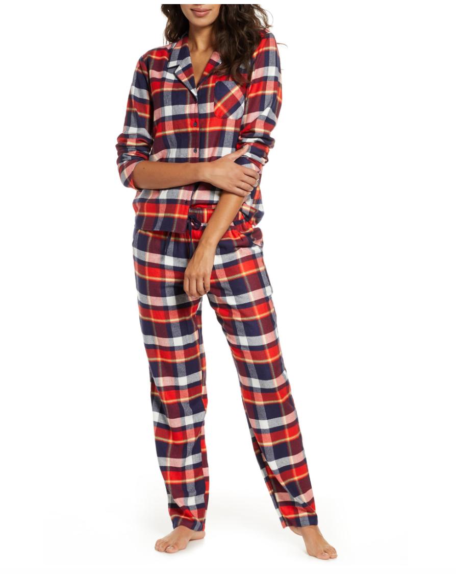 Flannel Pajamas (Regular & Plus Size Flannel pajamas