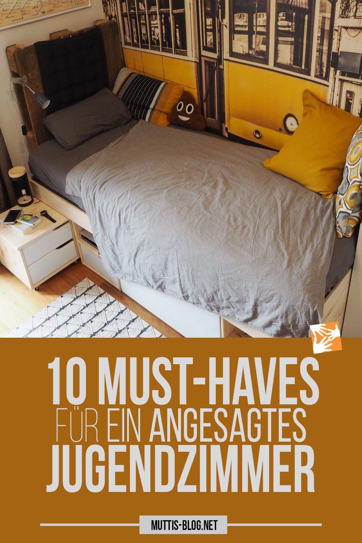 10 Musthaves für ein artgerechtes Jugendzimmer