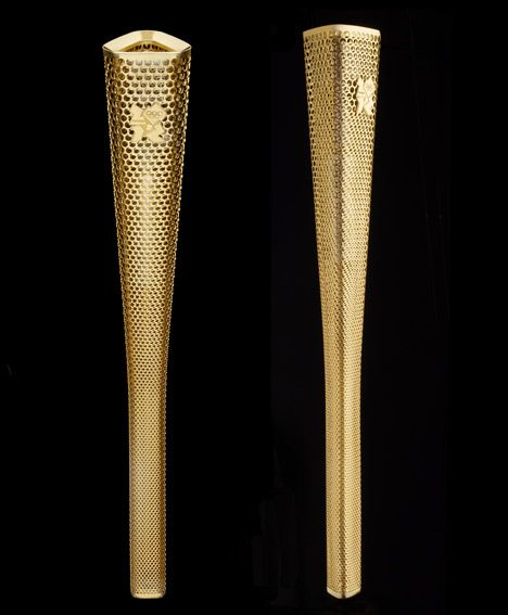 British Design Awards Olympic Torch By Barber Osgerby Studio Dizajn