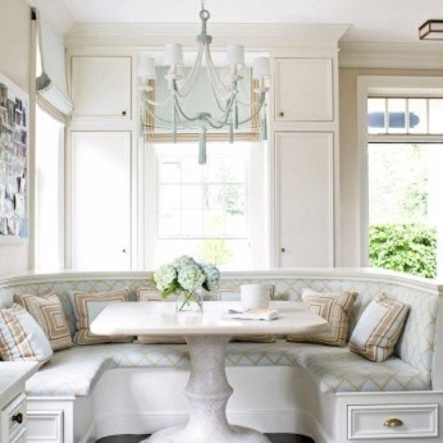 Pinmarka Sue Rogers On Live Pinterest  Kitchens House And Best Kitchen Booth Table Design Inspiration